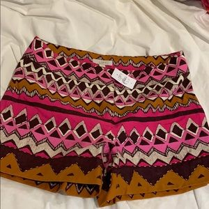 loft new with tags aztec shorts